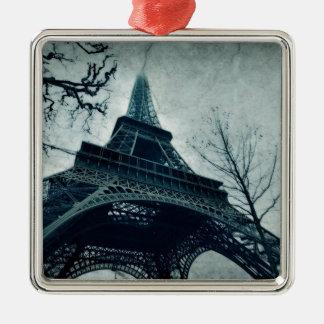 paris tour eiffel metal ornament