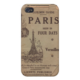 Paris Travel Brochure iPhone 4/4S Case