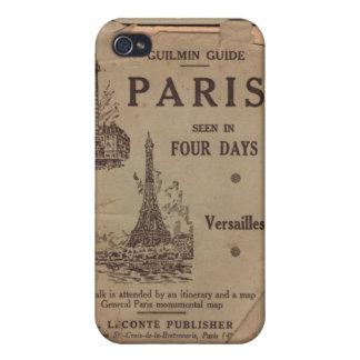 Paris Travel Brochure iPhone 4 Case