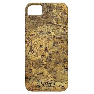 Paris Treasure Map iPhone SE/5/5s Case