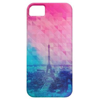 Paris triangle pattern iPhone SE/5/5s case