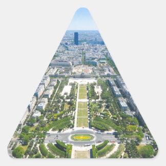 Paris Triangle Sticker