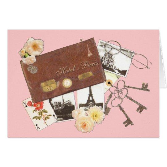 Paris Trip Greeting Card