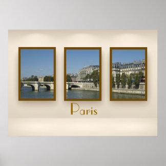 Paris triptych poster