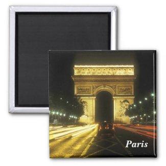 Paris - Triumphal arch - Magnets
