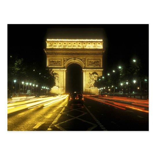 Paris - Triumphal arch - Postcard
