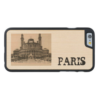 PARIS Trocadero postcard around 1910 Carved® Maple iPhone 6 Slim Case