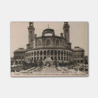 PARIS Trocadero postcard around 1910 Post-it® Notes