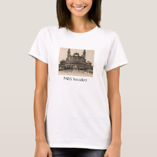 PARIS Trocadero postcard around 1910 T-Shirt