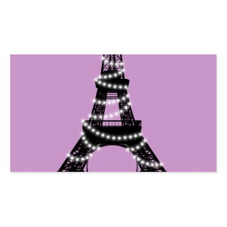 Paris Twinkles Place Cards