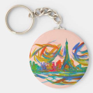 Paris Twist Keychain