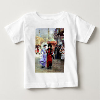 Paris Two Ladies Painting Baby T-Shirt