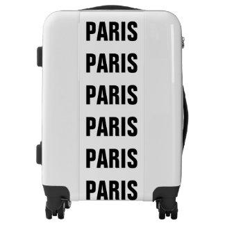 Paris, Typo black Luggage