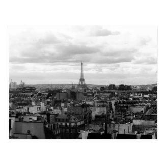Paris Urban theme Postcard