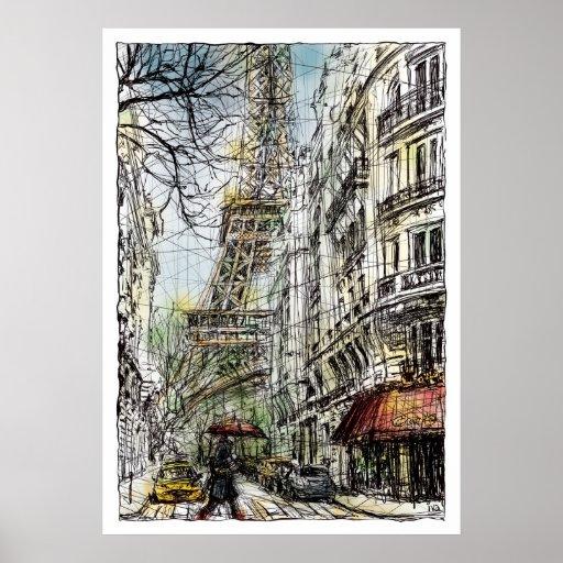 Paris V Poster