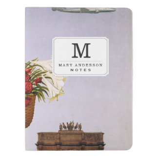 Paris via Constellation Extra Large Moleskine Notebook Cover With Notebook