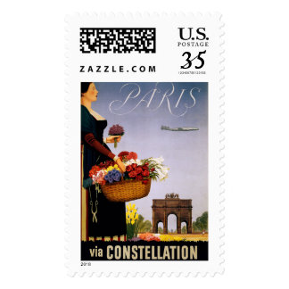 Paris via Constellation Postage