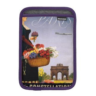 Paris via Constellation Sleeve For iPad Mini