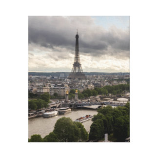 Paris View Canvas Print