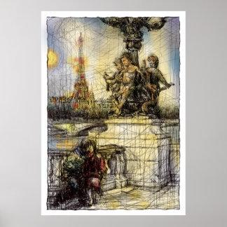 Paris VII Poster