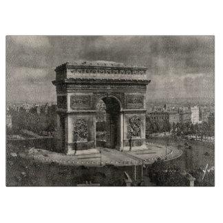 Paris vintage Arc de Triomphe 1943 Cutting Board