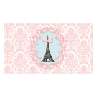Paris Vintage Calling Card Double-Sided Standard Business Cards (Pack Of 100)