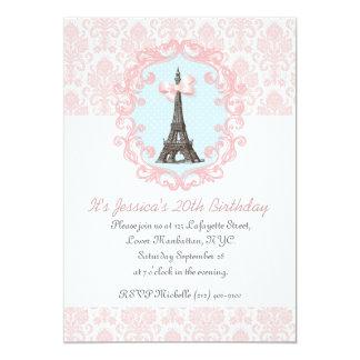 Paris Vintage Card