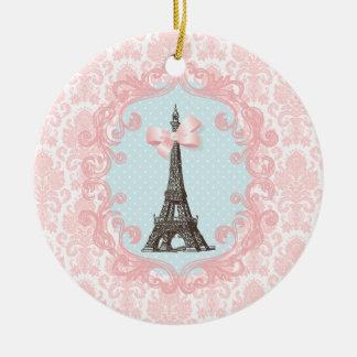 Paris Vintage Ceramic Ornament