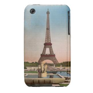Paris Vintage Eiffel Tower Postcard iPhone 3 Cover