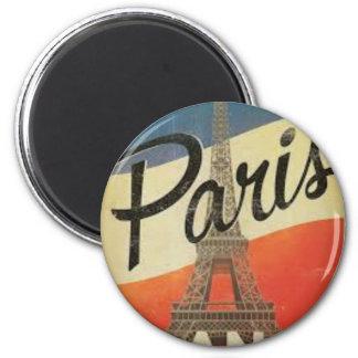 Paris Vintage France Magnet