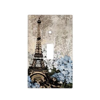 Paris Vintage Hydrangeas Dark Switch Cover Light Switch Plates