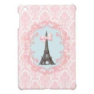 Paris Vintage Pink Damask Case For The iPad Mini
