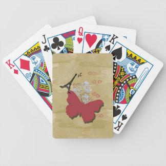 Paris vintage poker cards