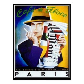 Paris Vintage Postcard