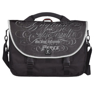 paris vintage scripts french country chalkboard bags for laptop