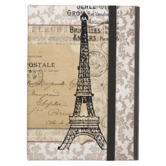 Paris Vintage Shabby Chic Eiffel Tower iPad Air Cover