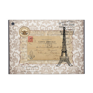 Paris Vintage Shabby Chic Eiffel Tower iPad Mini Cases
