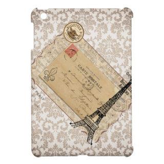 Paris Vintage Shabby Chic Eiffel Tower iPad Mini Cases