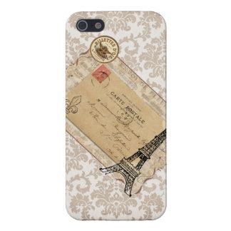 Paris Vintage Shabby Chic Eiffel Tower iPhone 5 Case