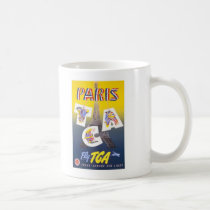 Paris Vintage travel poster