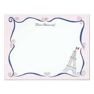Paris Whimsy Personalized Note Cards