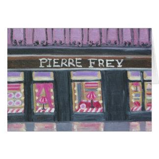 Paris Window Displays Card