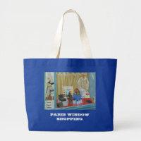 PARIS WINDOW SHOPPING bag