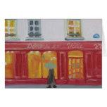PARIS WINDOW SHOPPING NOTECARD GREETING CARDS