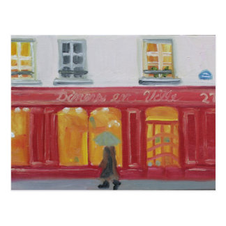 Paris Window Shopping on 27,rue de Varenne! Postcard