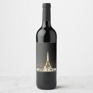 Paris Wine Bottle Sticker