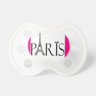 Paris with Eiffel Tower Pacifier