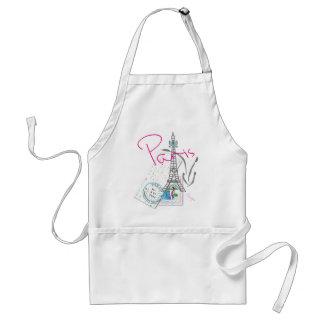 Paris with love apron