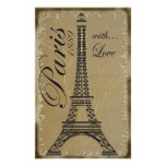 Paris, with Love Posters
