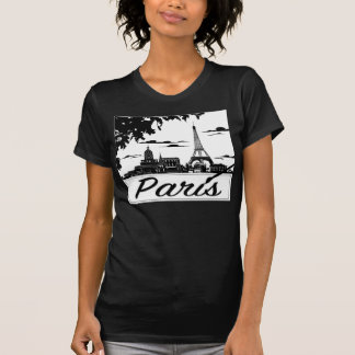 Paris Women's American Apparel Fine Jersey T-Shirt